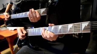 Tsunami - DVBBS & Borgeous (Guitar Cover Test)