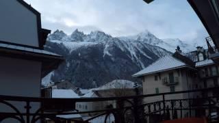 Chamonix early morning time lapse