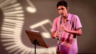 Esse é Meu Som: Luan toca clarinete