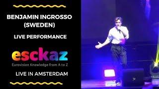 ESCKAZ in Amsterdam: Benjamin Ingrosso (Sweden) - Dance You Off
