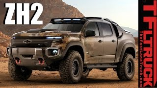 Chevy Colorado ZH2: Is this Hybrid Hydrogen-Powered 4X4 Truck the Humvee of the Future?