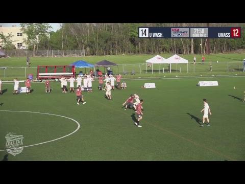 Video Thumbnail: 2018 College Championships, Men's Pre-Quarter: UMass vs. Washington