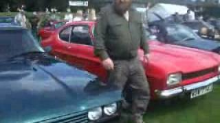 Ford Capri at the  Terenure Motor Show in Dublin