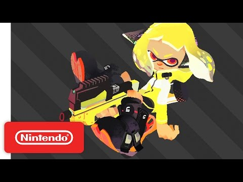 WTFF::: Splatoon 2 Single Player Trailer Debuts Marie and New Challenges - oprainfall