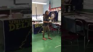 Teacher raps bodak yellow