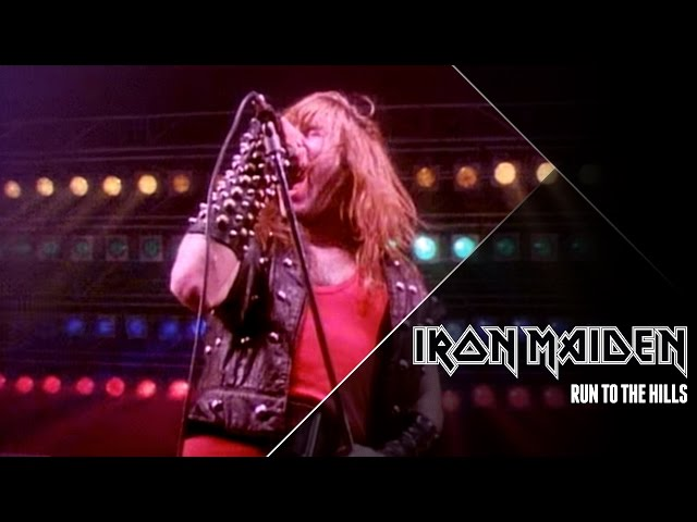 """Video oficial de """"Run to the hills"""" de Iron Maiden"""