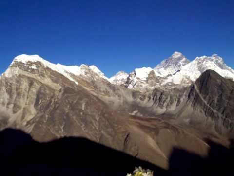 Gokyo Ri panorama (5,357m – 17, 575 ft) Nepal
