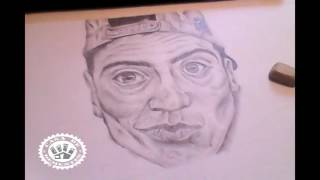 Drawing to El Pinche Mara - Casa de Dementes