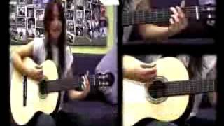 KT Tunstall teaches you how to play Suddenly I See