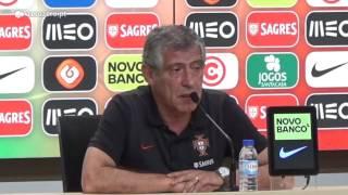Fernando Santos analisa adversários na Taça das Confederações