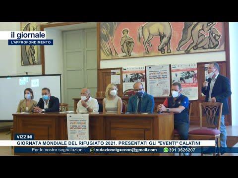 """Video: (VIDEO) Giornata mondiale del rifugiato. A Vizzini presentati gli """"eventi"""" nel Calatino SERVIZIO TG di TVR XENON - L'APPROFONDIMENTO 22 giugno 2021"""
