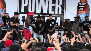 "Hopsin debuts ""Crown Me"" at POWERHOUSE 2015"