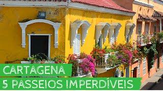 5 passeios imperdíveis em Cartagena