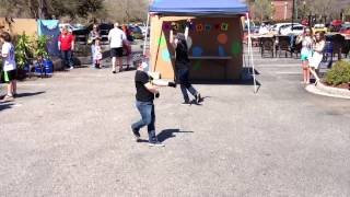 Kaeden & Kingston Dubstep dance at Lowe's MDA Carnival