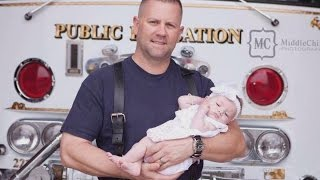 Firefighter Adopts Baby He Delivered On Rescue Call: 'We're Thick As Thieves'