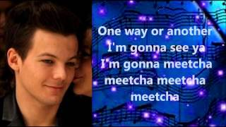 One Direction - One Way or Another (w/lyrics)