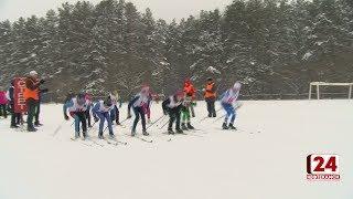 Лыжники отметили праздники масштабным турниром