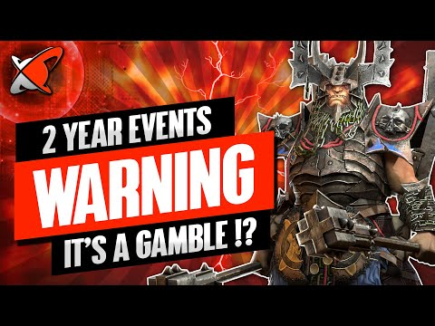 WARNINGS BEFORE YOU PUSH | 2 Year Anniversary Events | RAID: Shadow Legends
