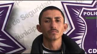 Detenido Robo de Autopartes Estereo 21Diciembre2012