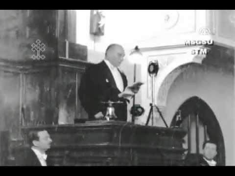 Atatürk'ün TBMM 5. Devre 2. Yıl Açılış Konuşması (Nette ilk kez)