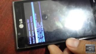 LG Optimus L5 L7 P708 - P708g desbloqueo * HARD RESET o FLASH * wipe