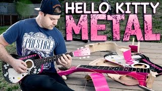 Hello Kitty Acoustic Metal