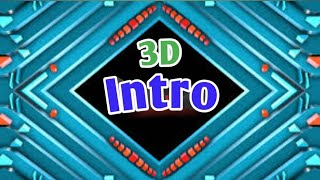 3D Intro | With Out Text | Smart Technology
