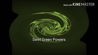 Klasky Csupo Swirl Green Powers