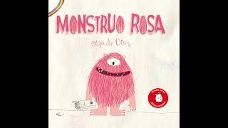"""Cuento """"Monstruo rosa"""" de Apila Ediciones"""