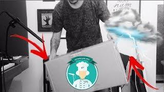 Criando efeito sonoro de trovão com caixa e pedras! - Ana Maria Game Audio