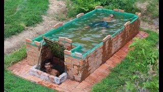 Build Swimming Pool On home  Underground