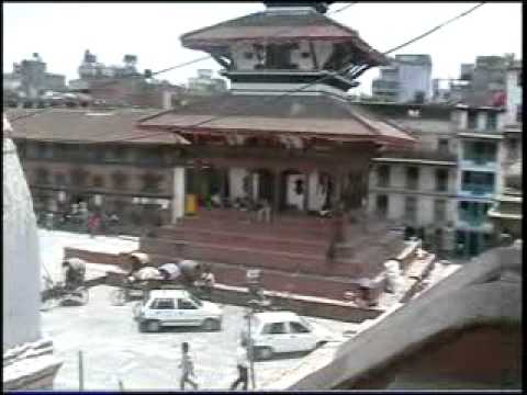 Kathmandu  Durbar square desde arriba