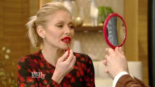Kelly Tries the Lollipop Lipstick Trend