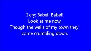 Mumford and Sons - Babel Lyrics