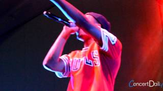 Diggy Simmons performing 'My Girl' Live at FSO