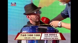[ Portugal em Festa - SIC ] - Sertório Ramalho cai no palco
