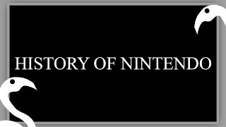 The History of Nintendo (+Nintendo Switch!)