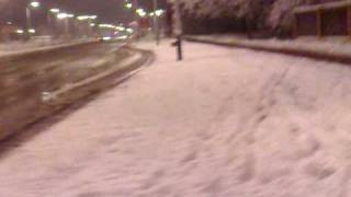 Pierwszy śnieg w Piotrkowie T. cz.2