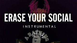 Lil Uzi Vert - Erase Your Social [Official Instrumental] (Re-Prod. By LJOnDaTrack)