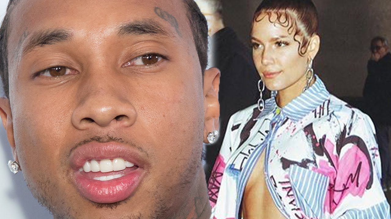Tyga shoots his shot  at Halsey on Instagram!