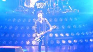 "GREEN DAY ""  TROUBLE TIMES""@ FOREST NATIONAL BRUXELLES /BRUSSELS 2017"