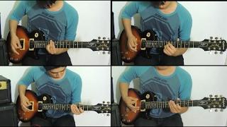 SASUKE Theme - Guitar Medley Hatred || Kokuten - Cover guitar By: Ricardo DMG