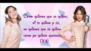 """Violetta 2: Karaoke instrumental """"Como quieres"""" (Sin voz+letra)"""
