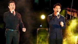 Παμε ξανα στα θαυματα - Mario Frangoulis & George Perris live in Aegina - Ark Summer Tour 2016