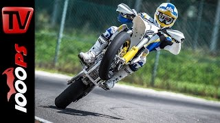 Husqvarna FS 450 - 2015 Supermoto Action Video