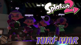 SPLATOON 2 TURF WAR MORAY TOWERS