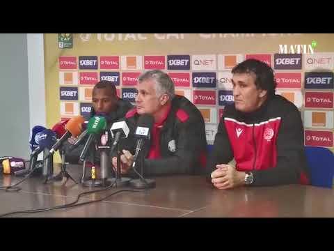 Video : Le Wydad est fin prêt mentalement, mais sans El Haddad, blessé
