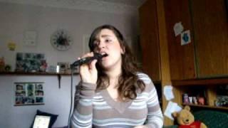 Me singing Tra te e il mare by Laura Pausini