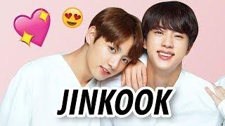 BTS JIN & JUNGKOOK CUTE MOMENTS (JINKOOK)