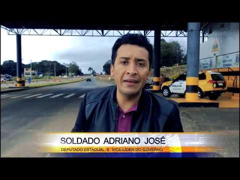 Deputado Estadual Soldado Adriano José sugere implantação de cobertura nos Postos da PRE no Paraná